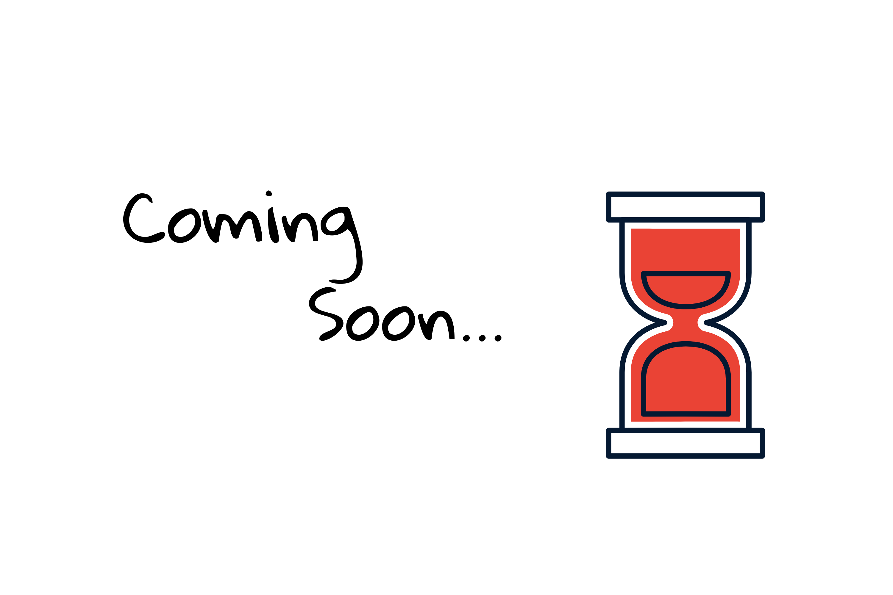 coming soon hour glass, we are coming soon hour glass, red hour glass white background